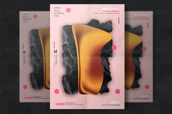 Thumbnail for Abstract design poster