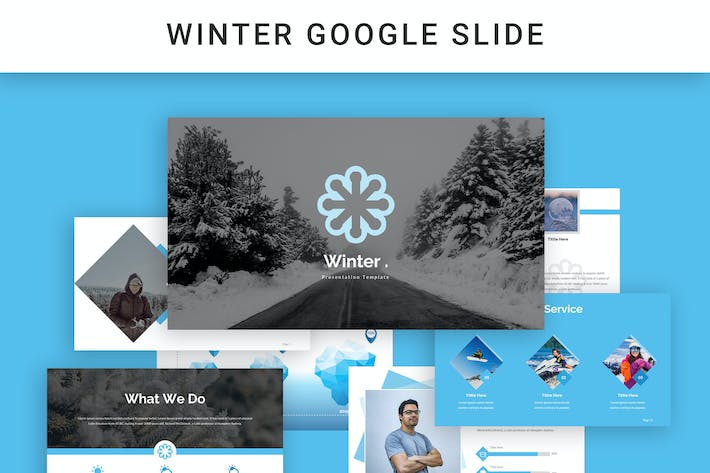 Cover Image For Winter Google Slides
