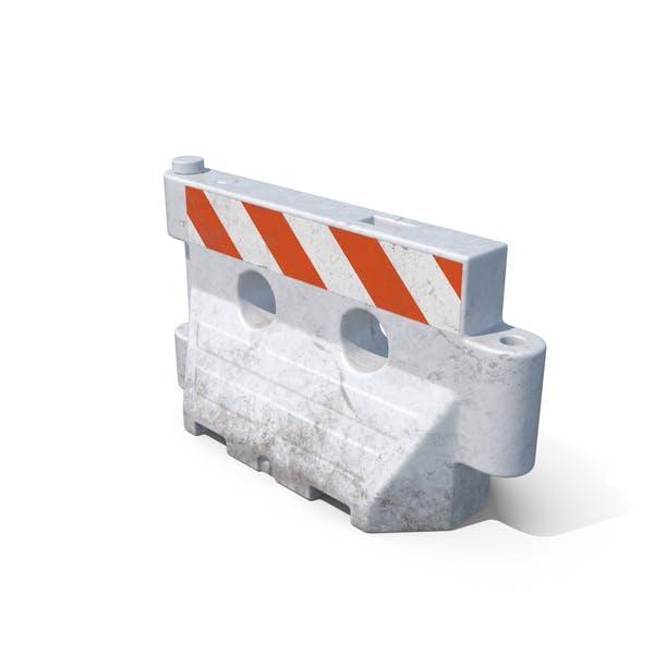 Plastic Barrier Dirt