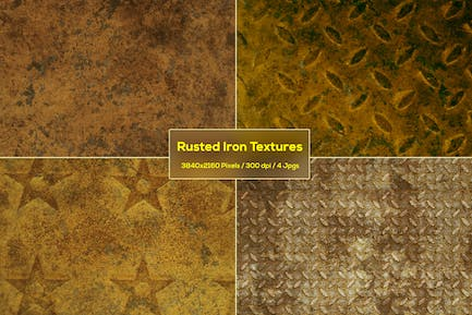 Rusted Iron Textures