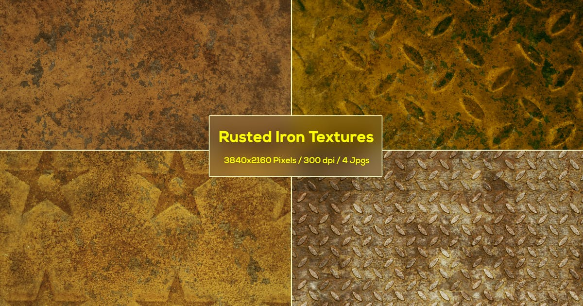 Download Rusted Iron Textures by StrokeVorkz