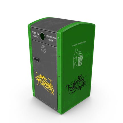 Recycling Trash Can
