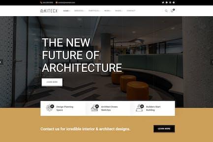 Kitecx - Architecture & Intérieur Thème WordPress