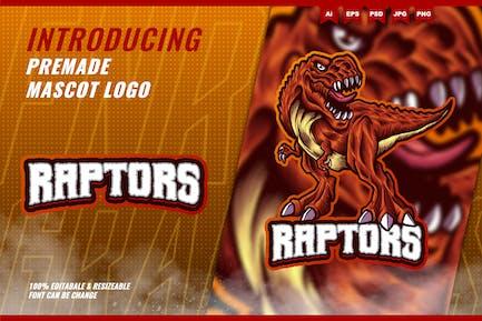 T-Rex Raptor - Mascot Esport Logo Template