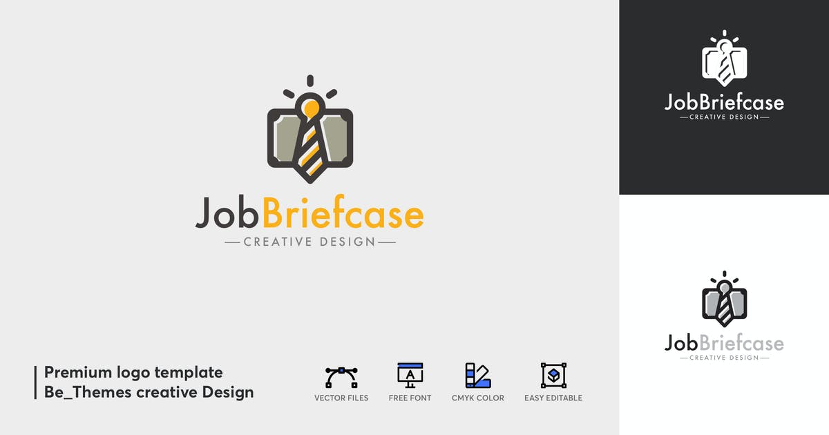 Download Job Brief Case Logo by Be_Themes