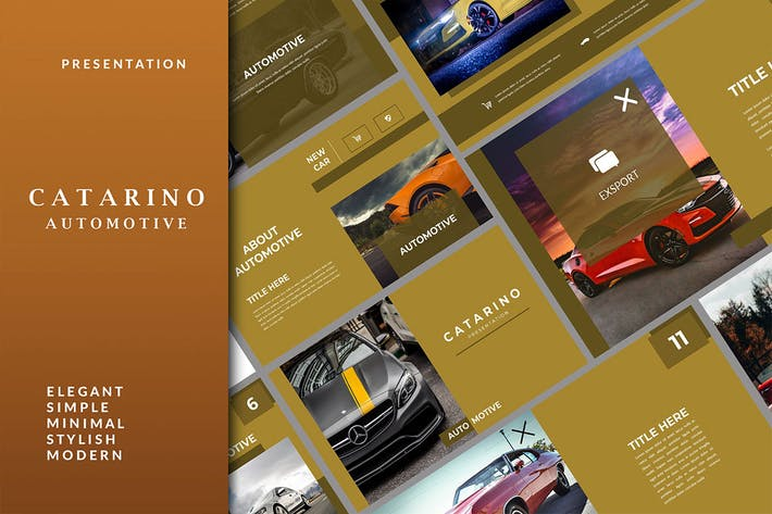 Thumbnail for Catarino Automotive - Sport Google Slides