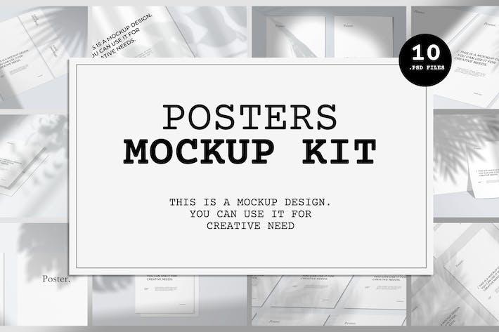 Thumbnail for Poster Mockup Kit