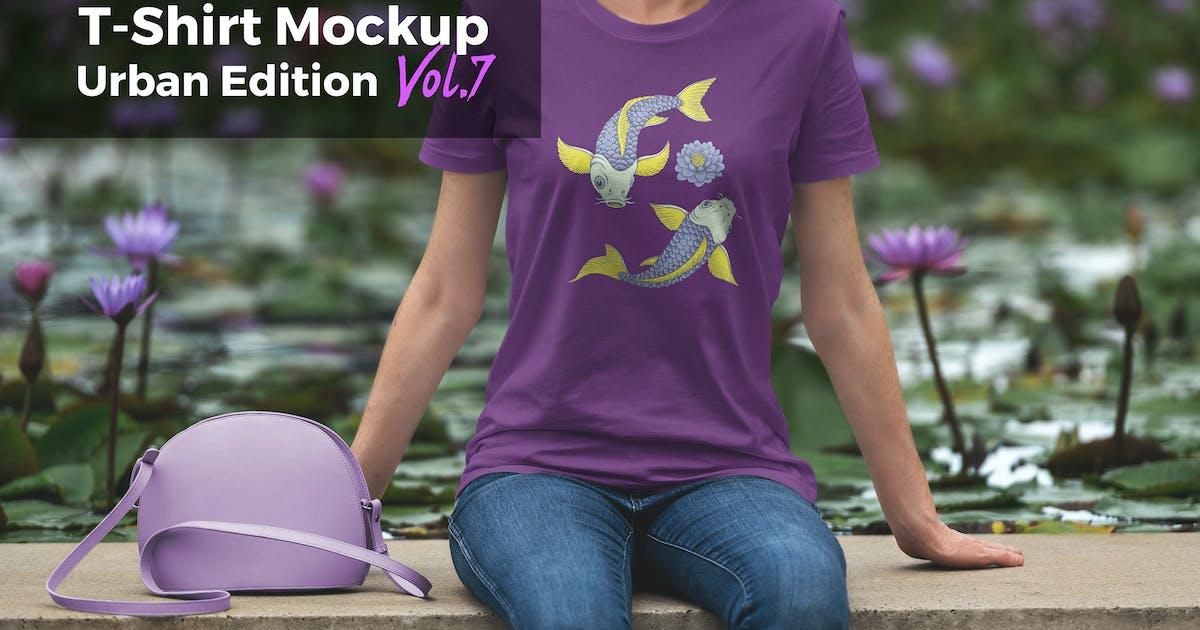 T-Shirt Mockup Urban Edition Vol. 7 by Genetic96