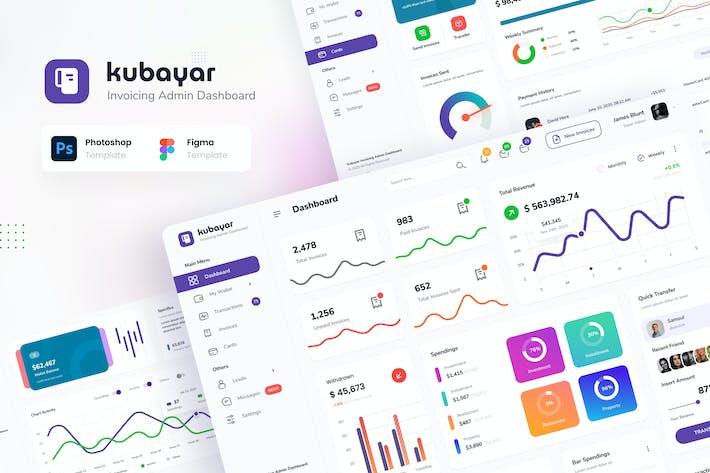 Thumbnail for Kubayar - Invoicing Admin Dashboard UI Template