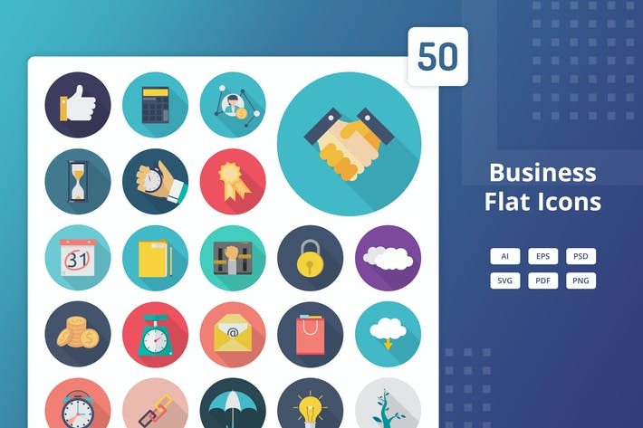 Thumbnail for Business - Flat Icons