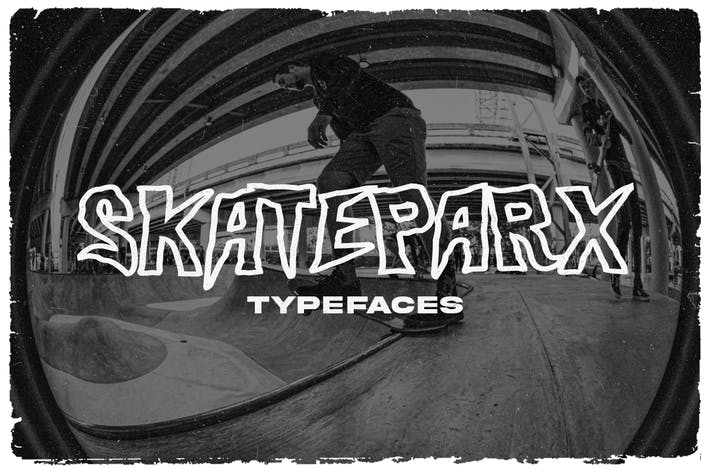 Thumbnail for Skateparx - Typeface