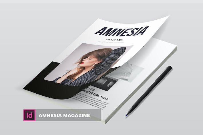 Thumbnail for Amnesia | Magazine Template