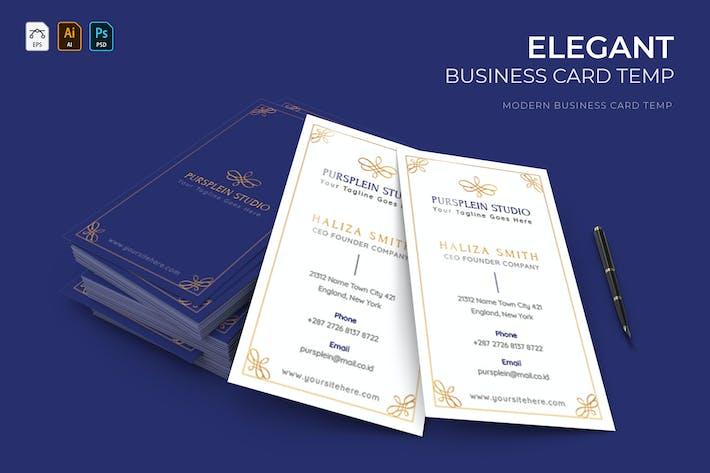 Thumbnail for Elegant Purple | Bussines Card