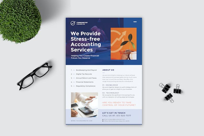 Thumbnail for Accounting Flyer