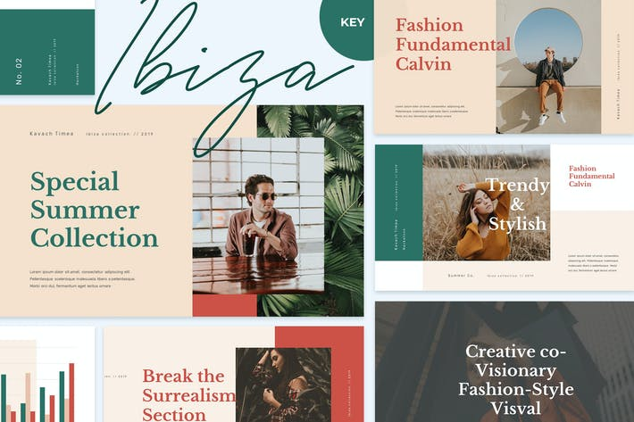 IBIZZA - Stylish & Elegant Keynote Template