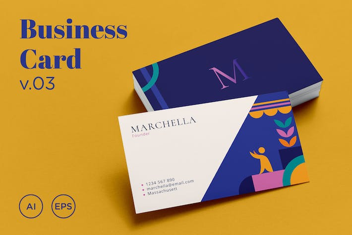 Thumbnail for Business Card v.03