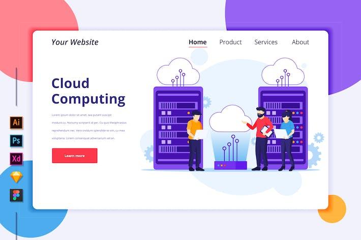 Thumbnail for Agnytemp - Cloud Computing Illustration v3
