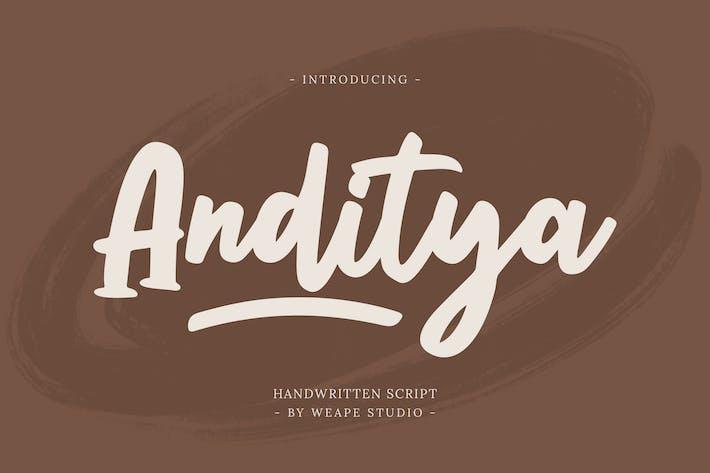 Script Anditya