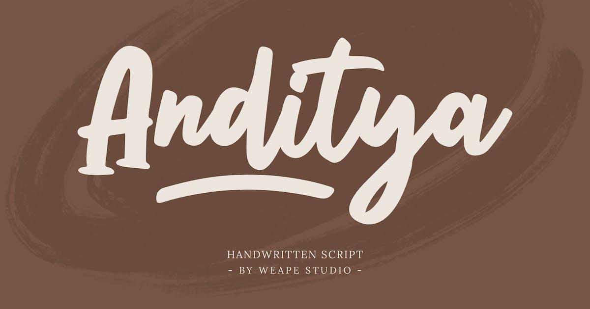 Download Anditya Script by weapedesign