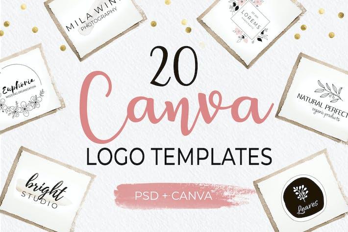 Thumbnail for Canva Logo Templates-1