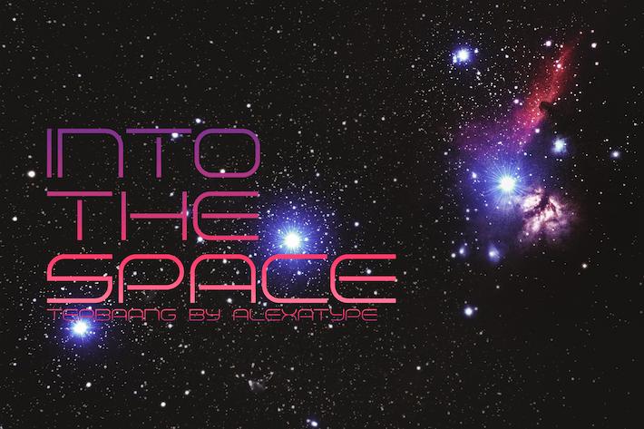 Thumbnail for TERBAANG - Space Font