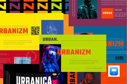 URBANIZM - Urban Style Keynote Template