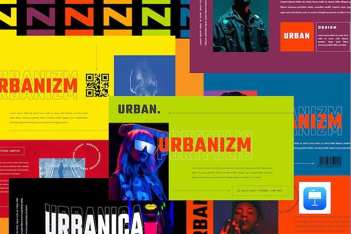 Thumbnail for URBANIZM - Urban Style Keynote Template