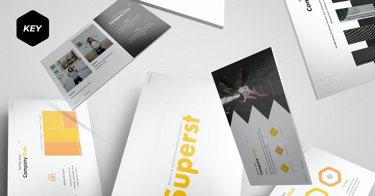 Download Superst - Keynote Template by aqrstudio