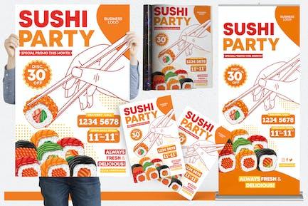 Restaurant #05 Print Templates Pack
