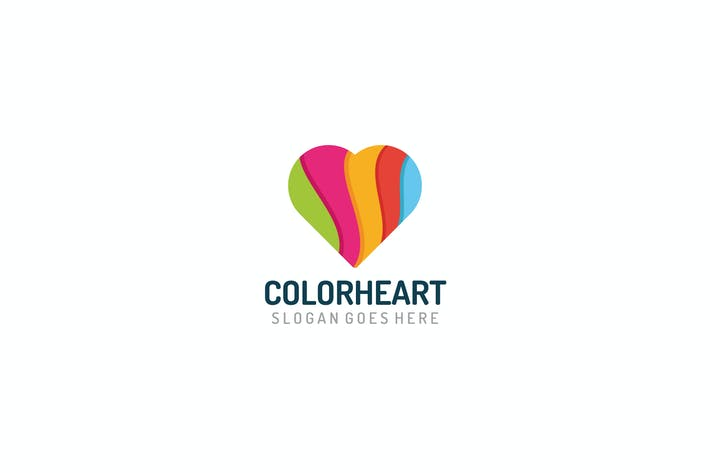 Thumbnail for Colorful Heart Logo