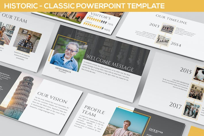 Thumbnail for Historic - Powerpoint Presentation Template