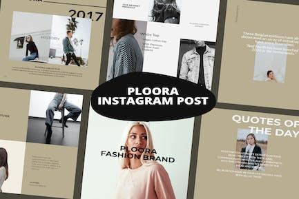 Ploora Instagram Posts