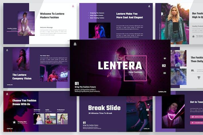 Thumbnail for Лентера Мода - Keynote