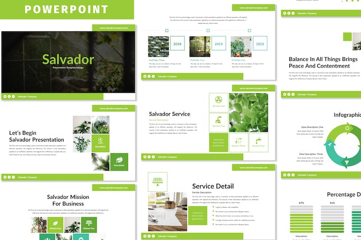 Thumbnail for Salvador - Business Powerpoint Template