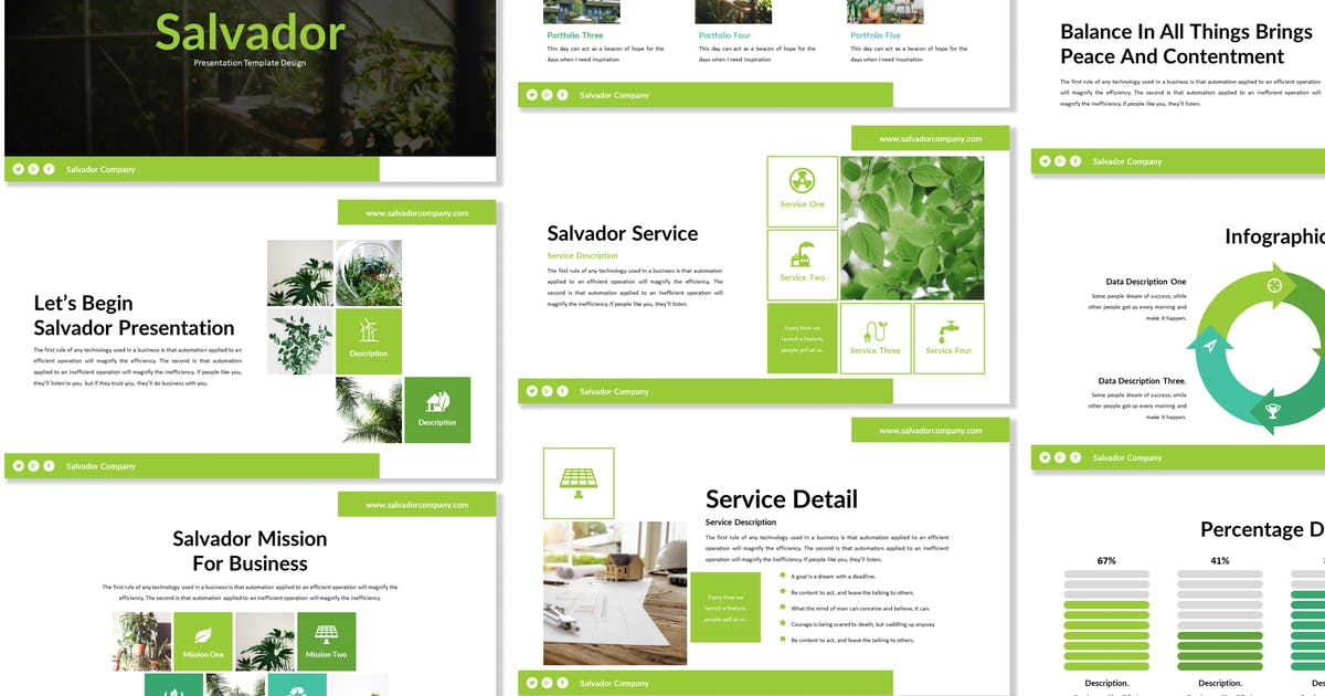 Download Salvador - Business Powerpoint Template by Blesstudio