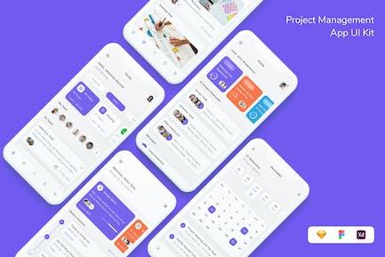 Project Management App UI Kit