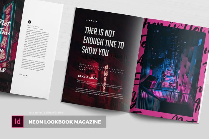 Cover Image For Neon Lookbook | Magazine