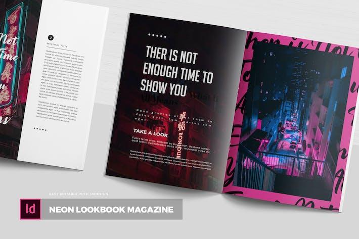 Thumbnail for Neon Lookbook | Журнал