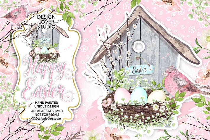 Thumbnail for Happy Easter design