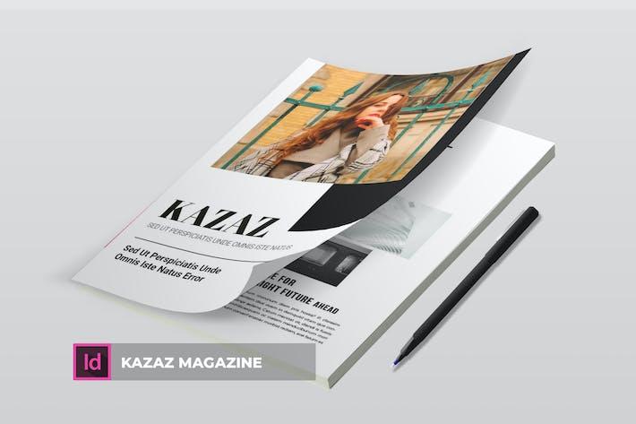Thumbnail for Kazaz | Magazine Template