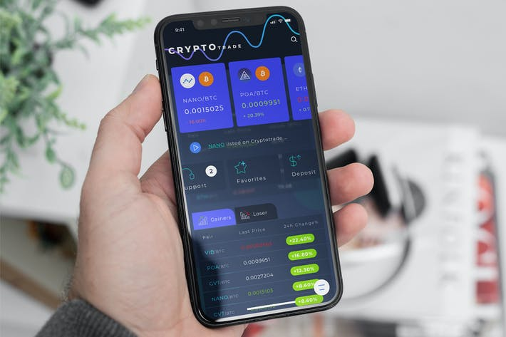 Thumbnail for Crypto Trade Home 4 Part 2 Mobile Ui