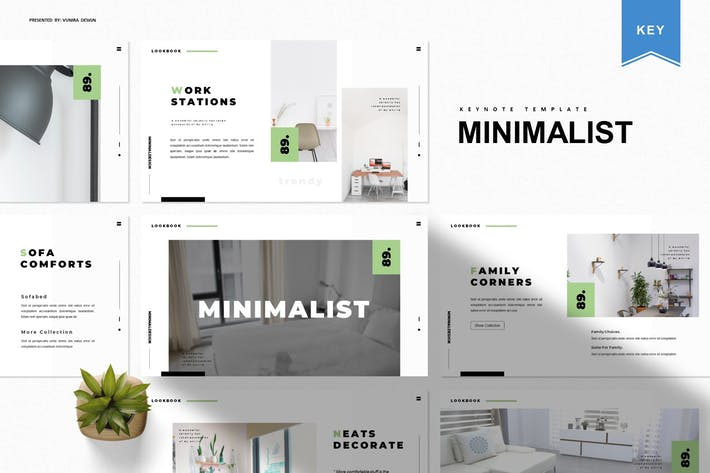 Thumbnail for Minimalist | Keynote Template