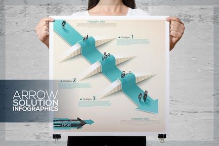 Arrow Solution Infographics