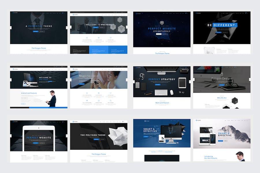 Polygon - Multipurpose HTML5 Website Template