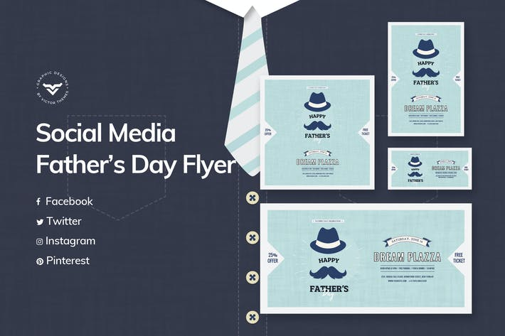 Thumbnail for Fathers Day Social Media Template