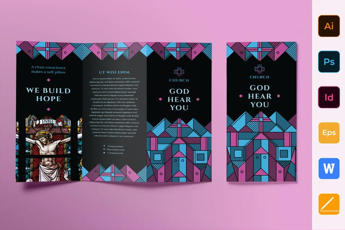 Thumbnail for Church Brochure Trifold