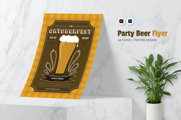 Thumbnail for Party Bière dépliant