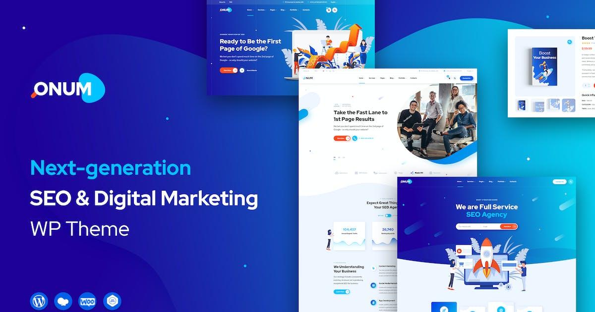 Download Onum - SEO & Marketing Elementor WordPress Theme by OceanThemes
