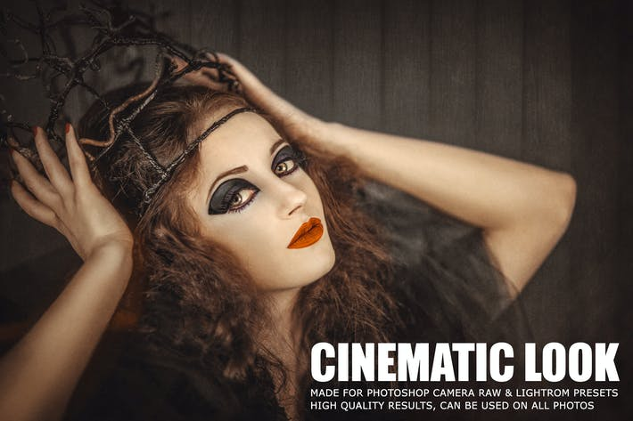 Cover Image For 10 Film Look Cinematic Lightroom Presets
