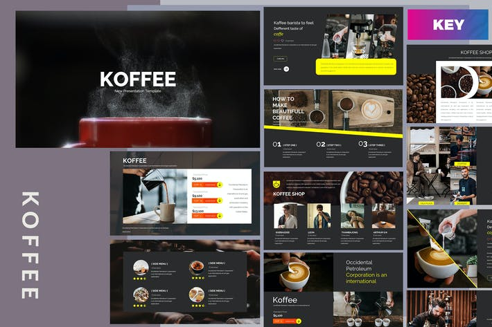 Thumbnail for Koffee Corporate - Keynote Template